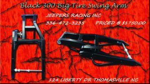 300 WIDE TIRE BLACK SWINGARM HAYABUSA & GSXR