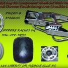 Chrome 360 Wide Tire KIT CHROME SWINGARM AND RC WHEELS