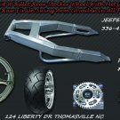 05-13 GSXR 240 Wide Tire Kit Replica Wheel & Raw Swing Arm