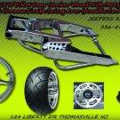 Chrome 330 Wide Tire Kit with GSXR Replica Wheel