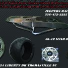 330 Wide Tire Kits with GSXR Replica Wheel & Raw Swing Arm
