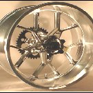 06-12 ZX 10 R 240 WIDE TIRE WHEEL SET