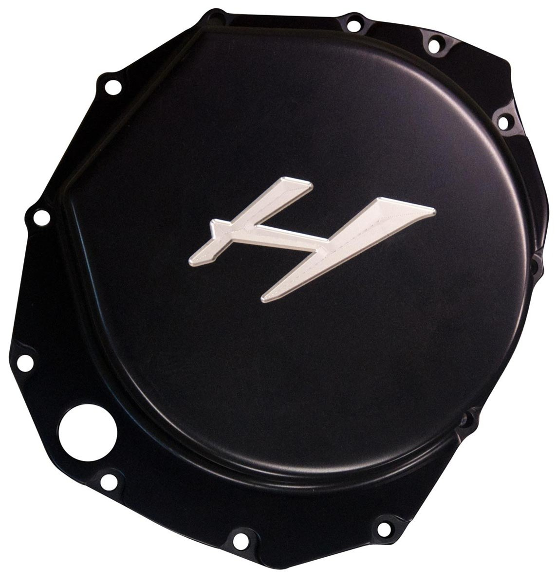 GSX-R 1300 Hayabusa (99-13) & B-King Anodized Black Clutch Cover  ( #A4309ABH)