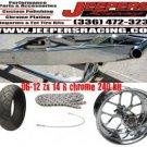 zx14 240 kit black arm with chrome rc replica wheel