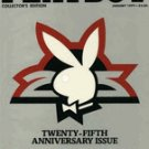 Playboy Magazine January 1979 25th Anniversary Issue