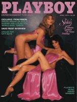 Playboy Magazine April 1978 Sisters - Susan and Patty Kiger