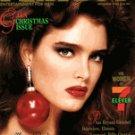 Playboy Magazine December 1986 Brooke Shields