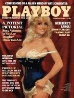 Playboy Magazine February 1984 Carol Wayne