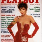 Playboy Magazine December 1983 Joan Collins