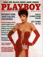 Playboy Magazine December 1983 Joan Collins