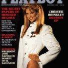 Playboy Magazine November 1984 Christie Brinkley