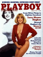 Playboy Magazine August 1984 Terry Moore Hughes