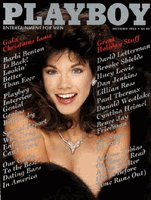 Playboy Magazine December 1985 Barbi Benton.