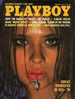 Playboy Magazine February 1977 Lena Kansbod