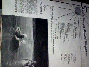 Sunbathing for health magazine. July,1958