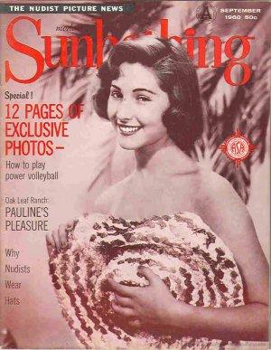 Modern Sunbathing  magazine. September,1960