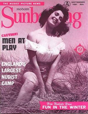 Modern Sunbathing  magazine. September,1961