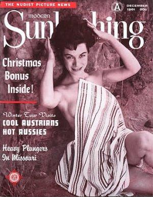 Modern Sunbathing  magazine. December,1961