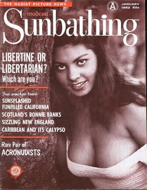 Modern Sunbathing  magazine. January,1962