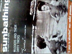 Modern Sunbathing  magazine. September,1962