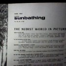 Modern Sunbathing  magazine. June,1962