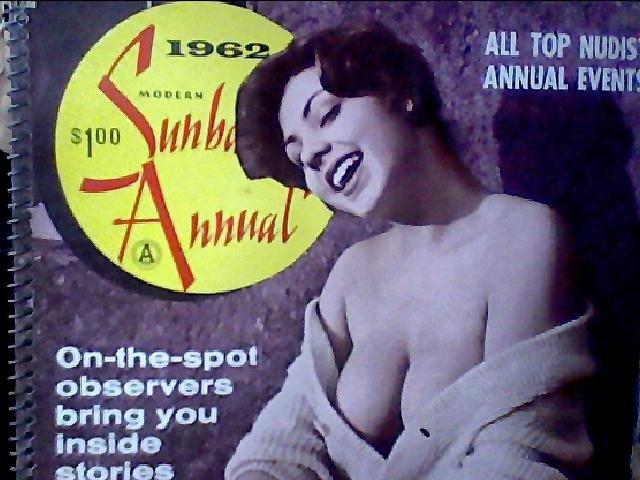 Modern Sunbathing magazine. ANNUAL,1962