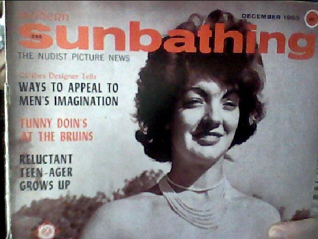 Modern Sunbathing magazine. December,1963