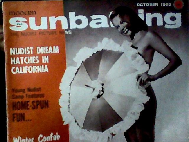 Modern Sunbathing magazine. October,1963