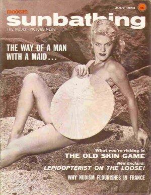 Modern Sunbathing magazine.October,1964