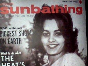 Modern Sunbathing magazine.February,1965