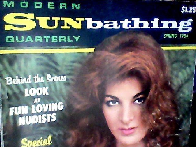 Modern Sunbathing magazine.Quarterly,spring 1966