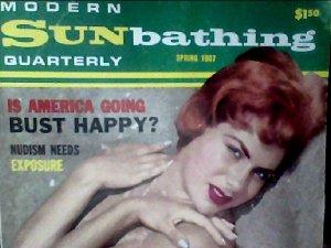 Modern Sunbathing magazine.Quarterly, spring 1967