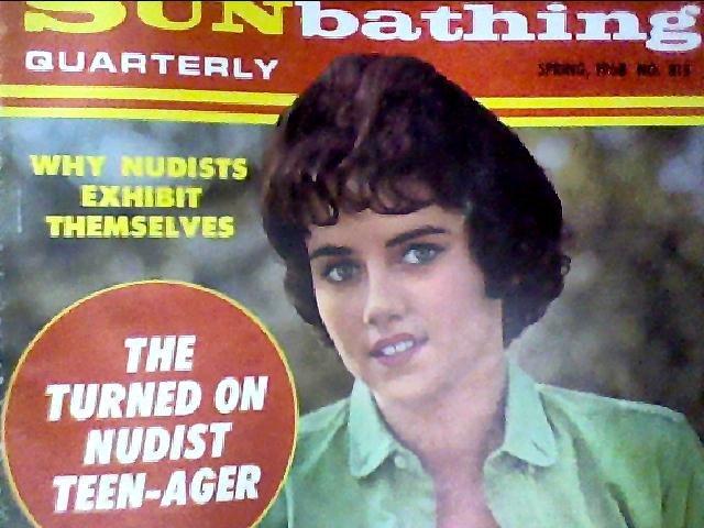 Modern Sunbathing magazine.Quarterly,spring1968
