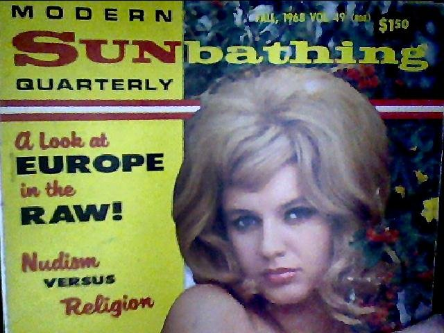 Modern Sunbathing magazine.Quarterly,fall1968