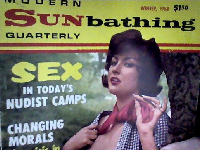 Modern Sunbathing magazine.Quarterly, winter 1968