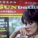 Modern Sunbathing magazine.Quarterly,spring 1968