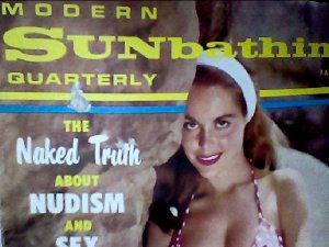 Modern Sunbathing magazine.Quarterly, fall 1966