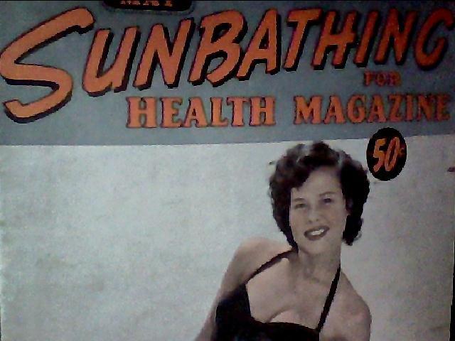 Sunbathing for health magazine. November, 1958