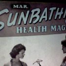 Sunbathing for health magazine. March, 1958