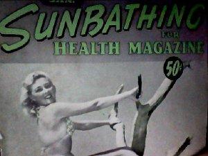 Sunbathing for health magazine. January, 1958