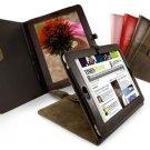 Tuff-Luv Bi-Axis™ Saddleback Leather case cover for Apple iPad & 3G / Wifi