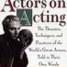 Actors on Acting