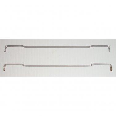 "8-3/4"" Bent Wire Bookcase Invisible Magic Shelf Support Clips Shelf"