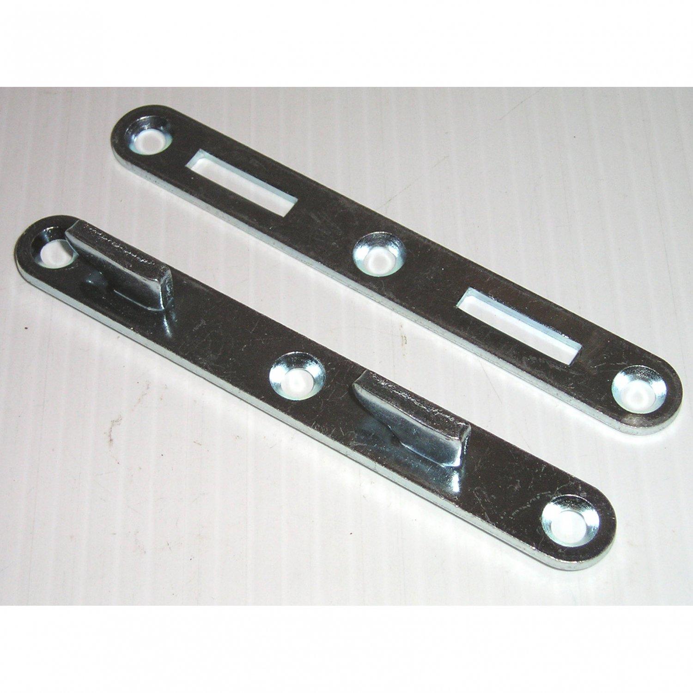 Bed Rail Connectors 5 Quot Double Hook Style Steel