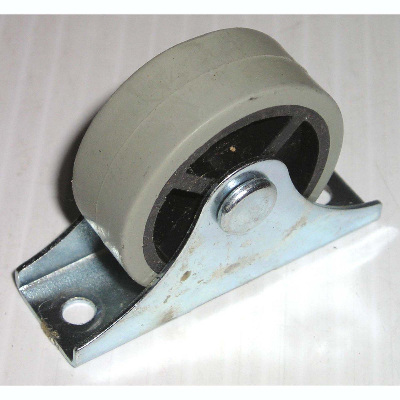Drawer Roller Caster Wheel Gray Rubber On Plastic Under Bed Storage