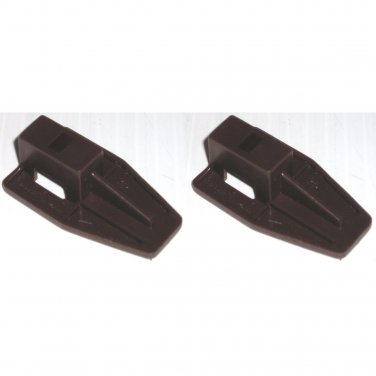Kenlin Brown Plastic Drawer Stop Slide Runner Fits Guide