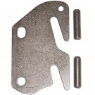 "Wood Bed Rail Double Hook Slot Plate Replacement End & Pins For 2"" Center Bracket / Bed Post"