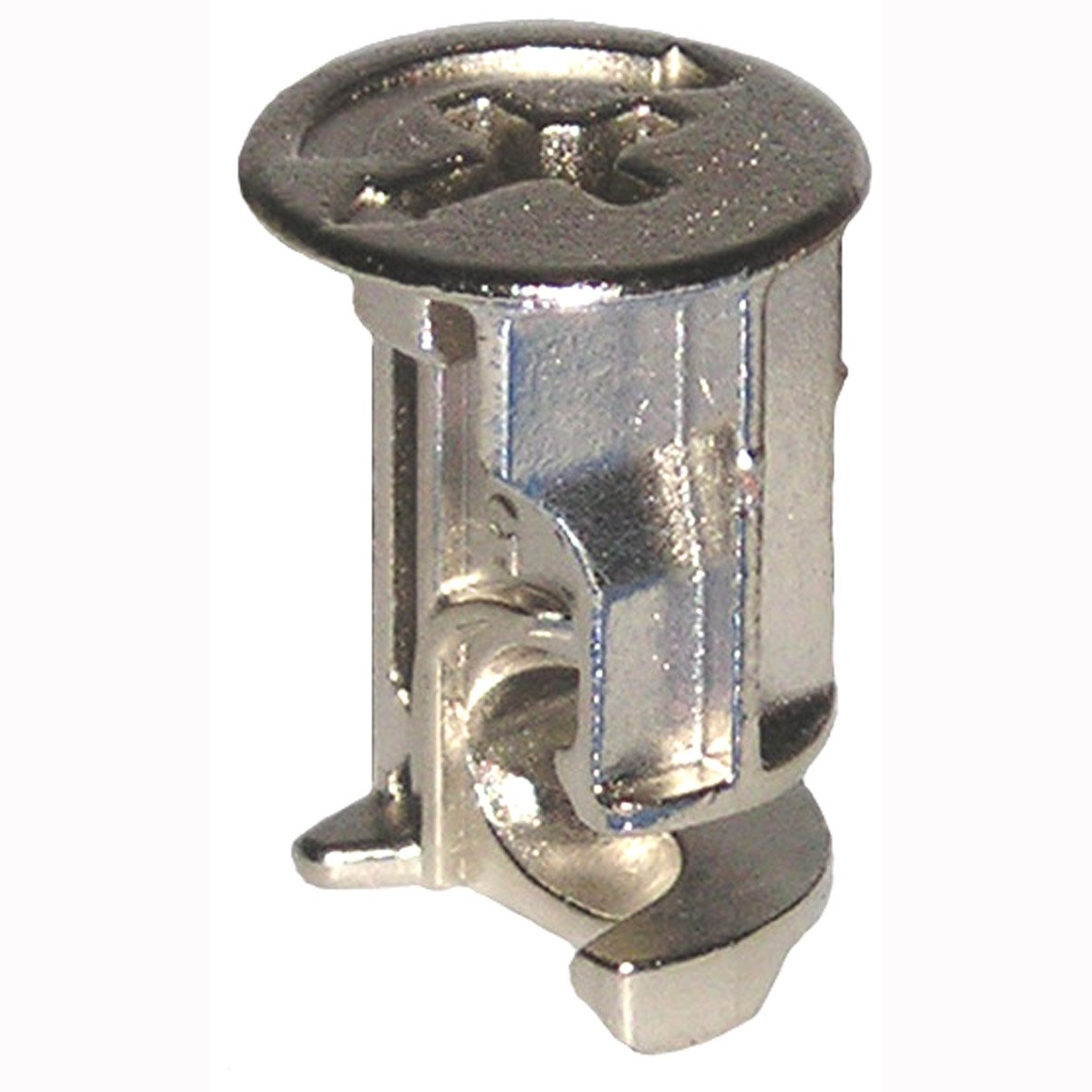 15mm X 21mm Rimmed Cam Lock Fasteners 4 Pk Furniture