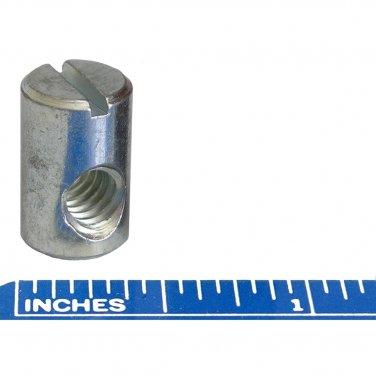 """1/4"""" x 20 TPI Barrel Nuts 5/8"""" High 3/8"""" Diameter Cross Dowel Fastener (10)"""