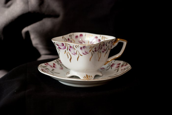 Occupied Japan china tea cup and saucer